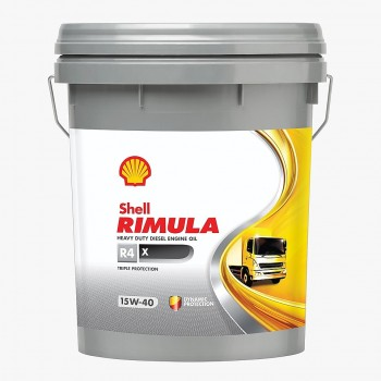 SHELL 15W40 R4X TANQUE